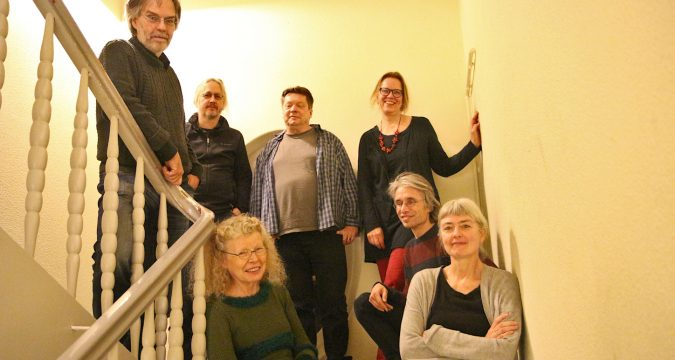 Das Resonanzen-Team: Thomas Dohna, Ralf Bittner, Edeltraud Dombert, Achim Borchers, Antje Doßmann, Rainer Schmidt, Elke Engelhardt