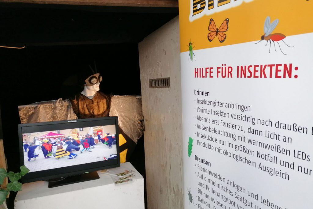 """Videoinstallation """"BIENENSTARK! Vom Leben und Sterben"""": ART at WORK"""